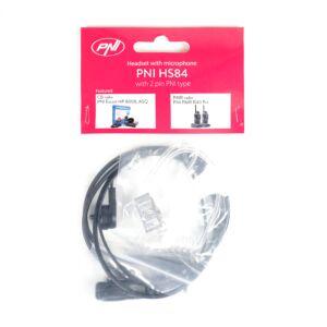 Casca cu microfon si tub acustic PNI HS84
