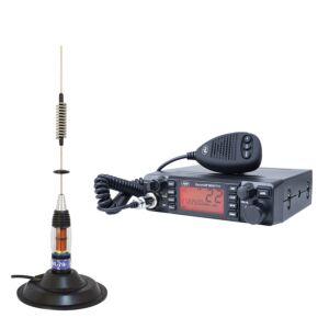 CB PNI ESCORT HP 9001 PRO ASQ + Antena CB PNI ML70