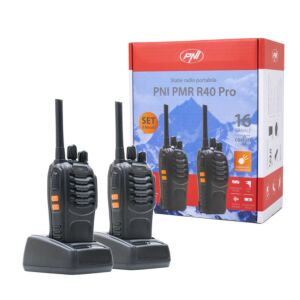 Statie radio portabila PNI PMR R40 Pro, set cu 2 buc