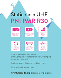 radio pmr pni r30